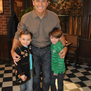 Hot In Cleveland, Max Charles, Gregory Harrison, Caitlin Carmichael