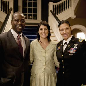 Wendy Davis, Sterling K. Brown, Nikki Haley