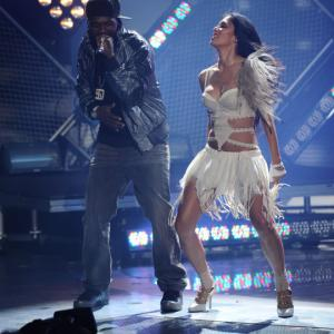 Still of Nicole Scherzinger and 50 Cent in American Idol The Search for a Superstar 2002