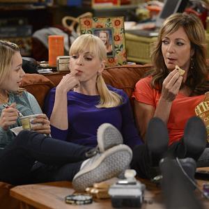 Still of Allison Janney, Anna Faris and Sadie Calvano in Mom (2013)