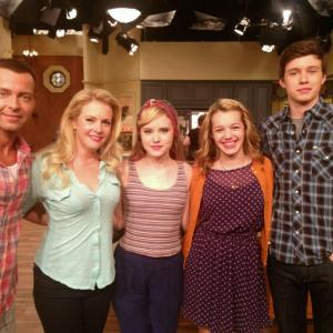 With the awesome cast of Melissa and Joey