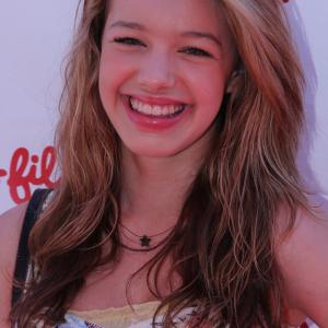 Sadie on the carpet at The Cinderella and Prince Charming Project 2012