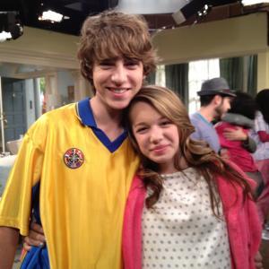 Sadie Calvano and Chase Ellison