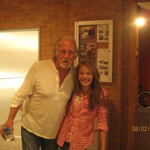 Sadie with Director Tony Wharmby