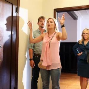Still of Rachael Harris, Elisha Cuthbert and Zachary Knighton in Happy Endings (2011)