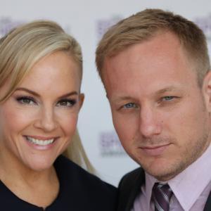 Rachael Harris and Robbie Pickering