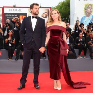 Joshua Jackson and Diane Kruger at event of Juodosios misios (2015)