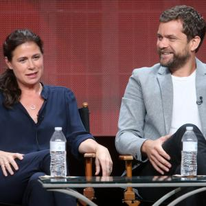 Joshua Jackson and Maura Tierney at event of The Affair (2014)