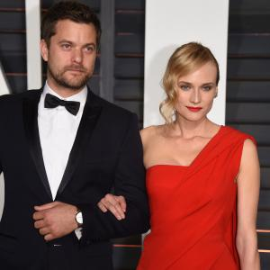 Joshua Jackson and Diane Kruger at event of The Oscars (2015)