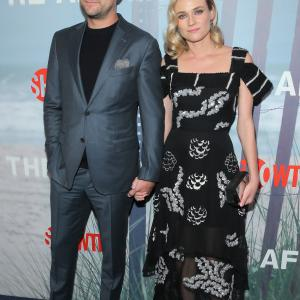 Joshua Jackson and Diane Kruger at event of The Affair (2014)