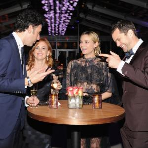 Joshua Jackson, Sacha Baron Cohen, Isla Fisher and Diane Kruger