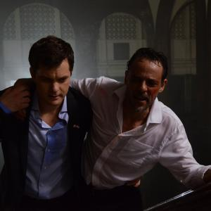 Still of Joshua Jackson and Alexander Siddig in Inescapable (2012)