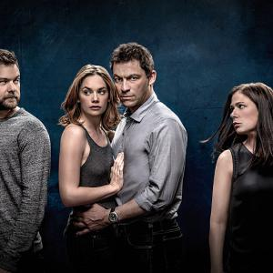 Still of Joshua Jackson, Maura Tierney, Dominic West and Ruth Wilson in The Affair (2014)