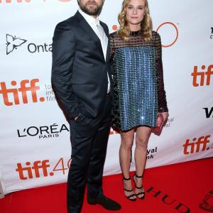 Joshua Jackson, Diane Kruger and Jemal Countess at event of Maryland (2015)