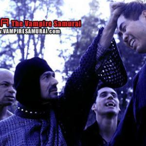 Adrian Zmed and Jeff Lam in SHIRA The Vampire Samurai!