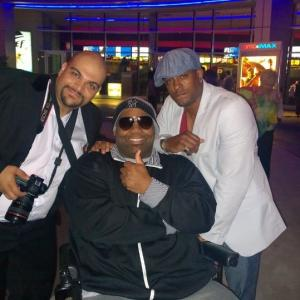 At the Premier of Breaking Point in Orlando FL with James Hunter Director and Derrick Hammond Executive Producer