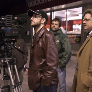 Matt Damon and Steven Soderbergh in Informatorius 2009