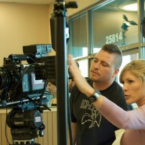 Directing on set of A Separate Life