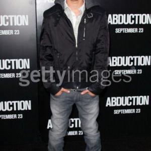 Garrett Backstrom at the Abduction premier.