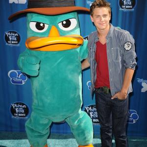 Garrett Backstrom at event of Phineas and Ferb the Movie: Across the 2nd Dimension (2011)