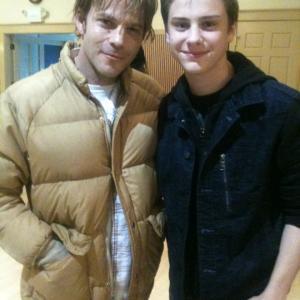 Me with Stephen Dorff