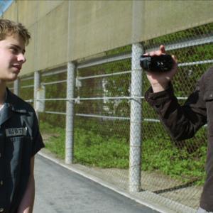 Still of Norman Reedus and Garrett Backstrom in Hello Herman (2012)
