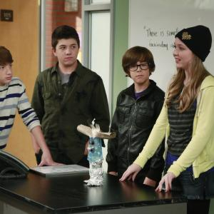 Still of Bradley Steven Perry, Jake Short, Cozi Zuehlsdorff and Augie Isaac in Mighty Med (2013)