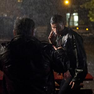 Still of Jim Caviezel and Kevin Chapman in Person of Interest 2011