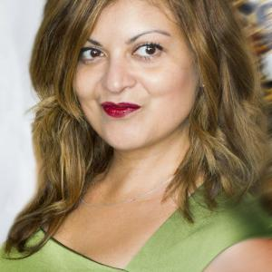 Directorproducer Patricia Chica on the red carpet at SCREAMFEST for the Los Angeles Premiere of A Tricky Treat