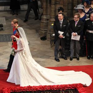 Elton John David Furnish Prince William and Catherine Duchess of Cambridge