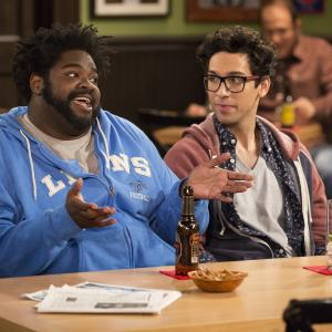 Still of Ron Funches and Rick Glassman in Undateable (2014)