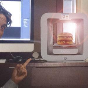 3D Hacker Prints Big Mac!