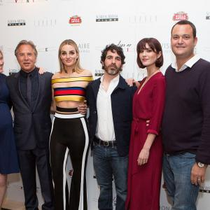 Don Johnson, Chris Messina and Mary Elizabeth Winstead at event of Alex of Venice (2014)