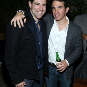 Max Greenfield and Chris Messina