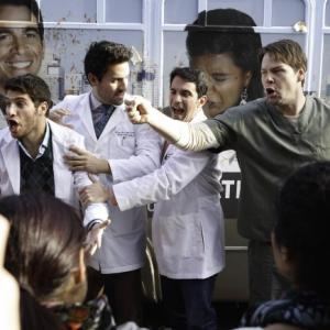Still of Ike Barinholtz, Chris Messina, Adam Pally and Ed Weeks in The Mindy Project (2012)