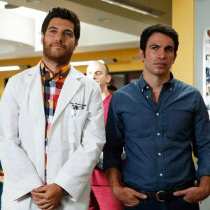 Still of Chris Messina and Adam Pally in The Mindy Project (2012)