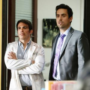 Still of Chris Messina and Ed Weeks in The Mindy Project (2012)