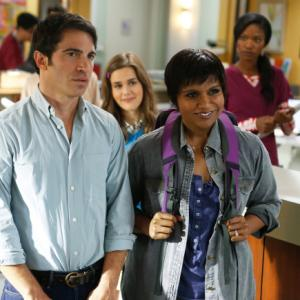 Still of Chris Messina, Zoe Jarman and Xosha Roquemore in The Mindy Project (2012)