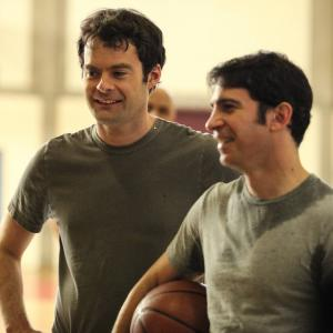Still of Bill Hader and Chris Messina in The Mindy Project (2012)