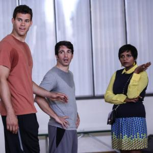 Still of Chris Messina, Mindy Kaling and Kris Humphries in The Mindy Project (2012)
