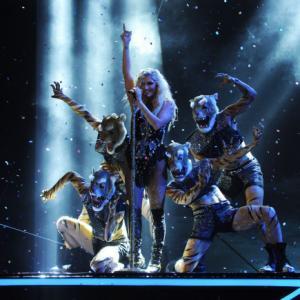 Still of Kesha in The X Factor 2011