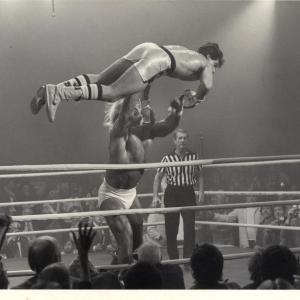 Don McGovern Rocky IIIstuntdouble for Sylvester Stallone Scene with Hulk Hogan