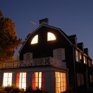 The Amityville Horror house wherein the DeFeo family was murdered in November 1974 The house was recreated for Shattered Hopes The True Story of the Amityville Murders written and directed by Ryan Katzenbach
