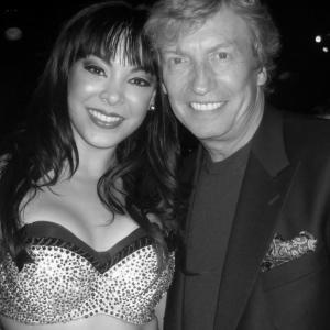 Post show pic with Nigel Lythgoe- he was such a huge fan of the Matt Goss show. What an incredible thing he has done with his TV show,