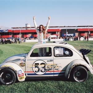 Still of Lindsay Lohan in Herbie Fully Loaded 2005