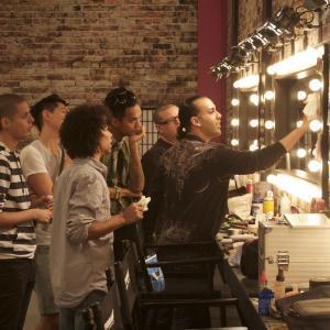 Still of Sutan Amrull, D.J. Pierce, Gabriel Villarreal, Alexis Mateo, Karl Westerberg and Carmen Carrera in RuPaul's Drag Race (2009)