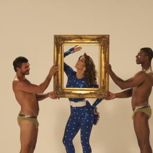 Still of Carmen Carrera, Shawn Morales and Jason Carter in RuPaul's Drag Race (2009)