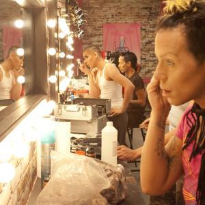 Still of Sutan Amrull, Brian Trapp, Gabriel Burgos Ortiz and Carmen Carrera in RuPaul's Drag Race (2009)