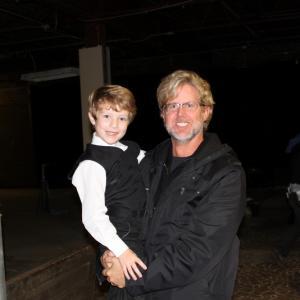 Wyatt with Michael Landon, Jr., Director of The Shunning