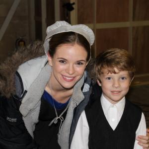 Wyatt with Danielle Panabaker Katie Lapp in The Shunning
